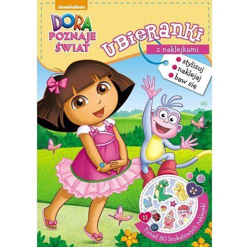 Dora poznaje świat Ubieranki z naklejkami - Jeśli zamówisz do 14:00, wyślemy tego samego dnia.