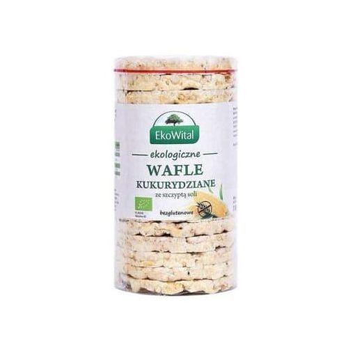 Ekowital Wafle kukurydziane z solą bezglutenowe bio (5908249973978)