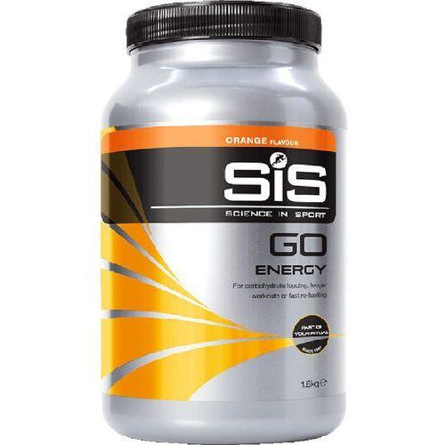 Napój energetyczny go energy / opakowanie: 1,6 kg / smak: pomarańczowy marki Sis