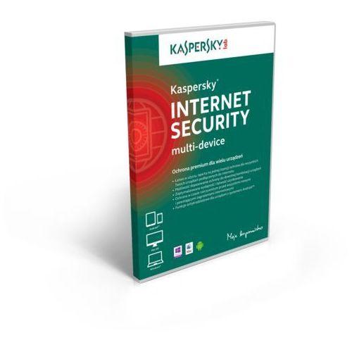 Licencja BOX Kaspersky Internet Security - multi-device 2 stanowiska 1 rok - promocja przy zakupie z komputerem lub notebookiem, KL1941PXBFSP