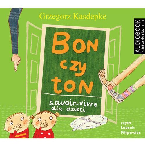 CD mp3 bon czy ton savoir-vivre dla dzieci wyd. 2