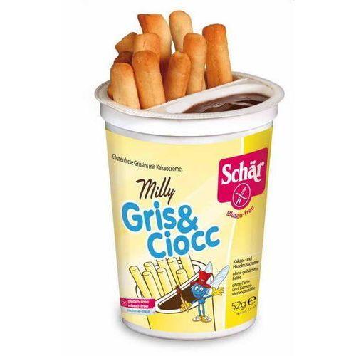 Schar Milly gris&ciocc-paluszki z czekoladą bezgl. 52 g - (8008698054109)