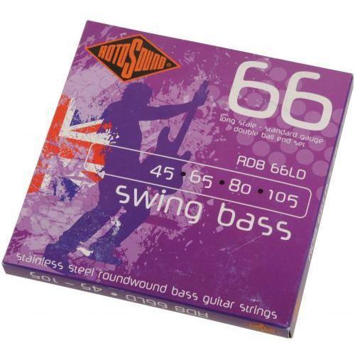 rdb66ld swing bass 66db struny do gitary basowej 45-105 marki Rotosound