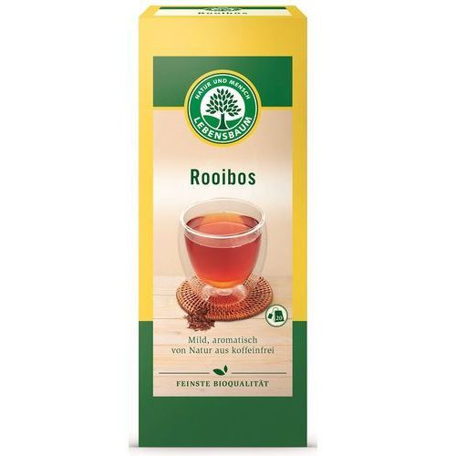 Lebensbaum (przyprawy, herbaty, kawy) Herbata rooibos ekspresowa bio (20 x 1,5 g) - lebensbaum (4012346210001)
