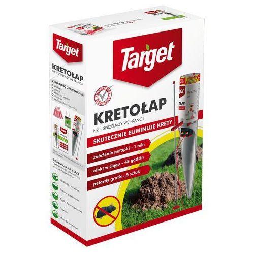Kretołap - pozbądź się kreta zyskaj piękny trawnik marki Target