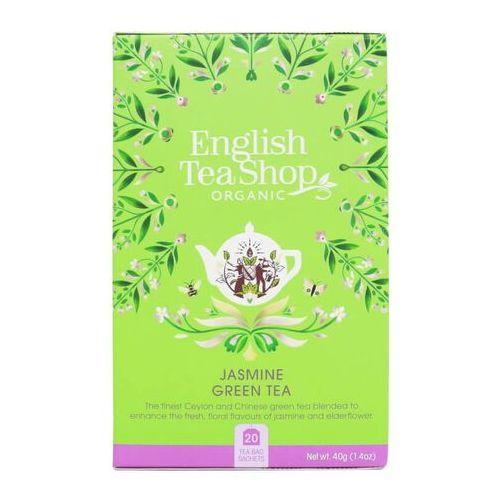 English tea sho Herbata zielona jaśminowa 20x2g bio 40 g p