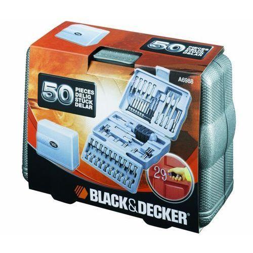 Black & decker Zestaw kulczy nasadowych i bitów black&decker a6988-xj (50 elementów) + zamów z dostawą jutro!