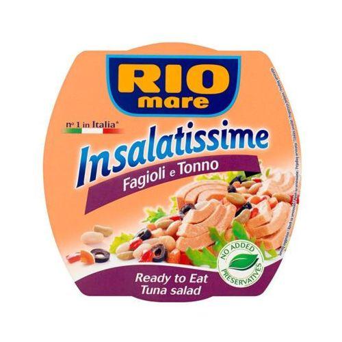160g sałatka z tuńczykiem fasolą i oliwkami marki Rio mare