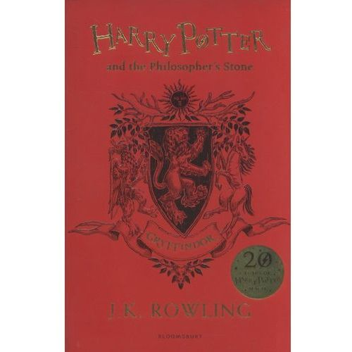 Harry Potter and the Philosopher's Stone - Gryffindor Edition (9781408883730)
