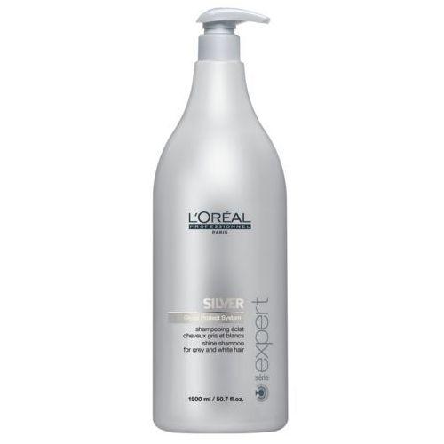 Loreal silver - szampon do włosów siwych lub rozjaśnionych 1500ml (3474630219991)