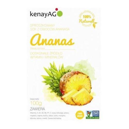 Kenay ag Ananas sproszkowany sok 100g (5900672151176)