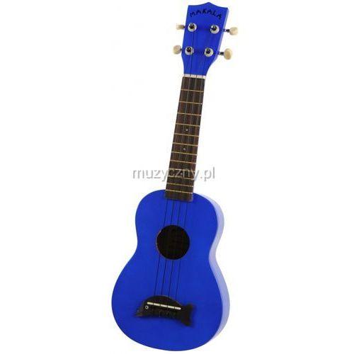 Kala Makala SD-MBL ukulele sopranowe, Metalic Blue