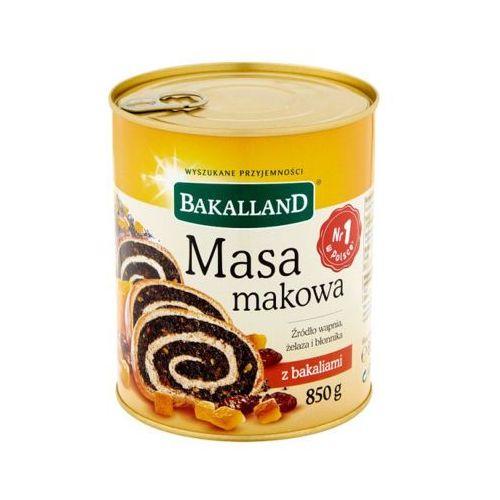 Bakalland 850g masa makowa