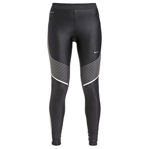 Nike Performance POWER SPEED Legginsy black/white/reflective silver