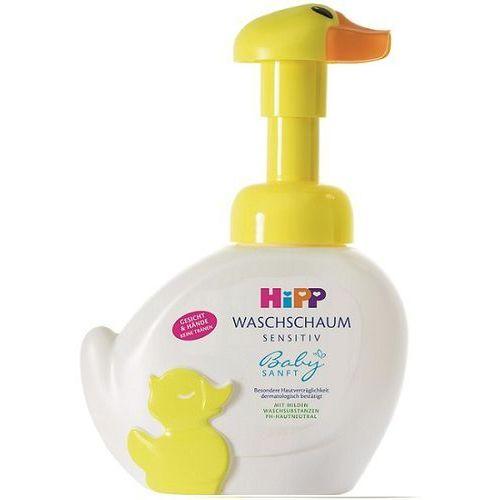 Hipp  babysanft - kaczuszka do mycia twarzy i rąk od 1.dnia życia 250ml
