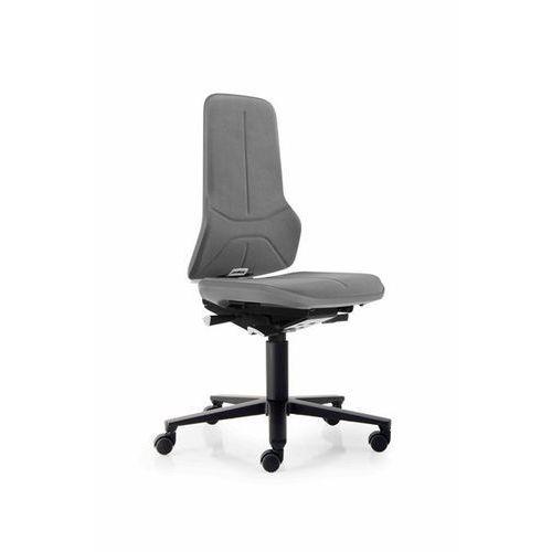 Bimos Obrotowe krzesło do pracy ze szkieletem z aluminium, na rolkach, supertec, elast