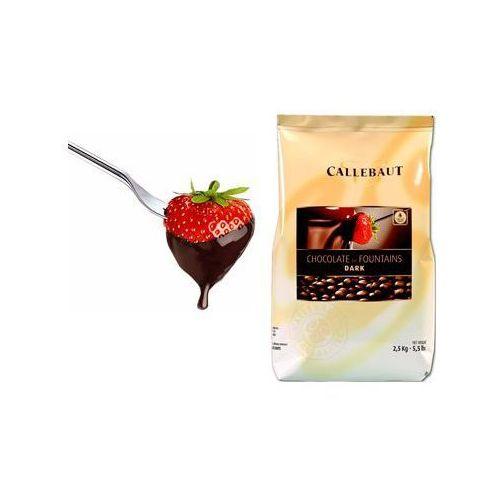 Czekolada gorzka do fondue oraz fontann | 2,5 kg marki Callebaut