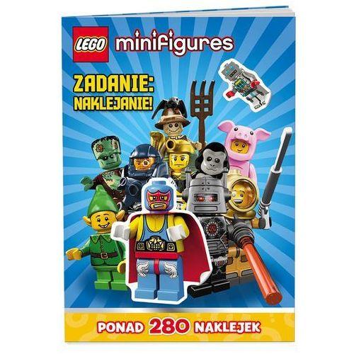 KSIĄŻKA LEGO® Minifigures. Zadanie: naklejanie