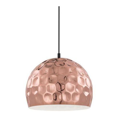 Lampa wisząca grelium mdm-2956/1l cop metalowa oprawa zwis kula ball miedź marki Italux
