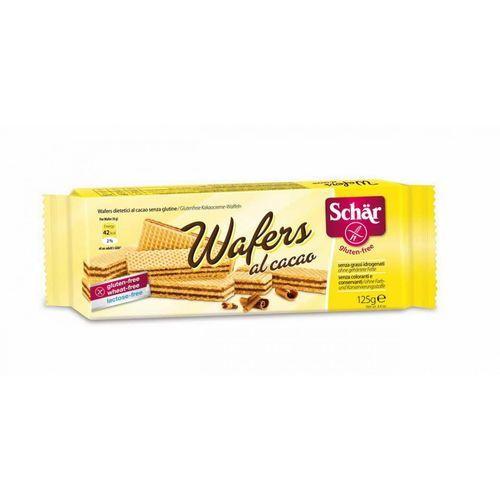 Wafelki z Kremem Kakaowym Bezglutenowe (Wafers Al Cacao) 125 g Schär, 2191