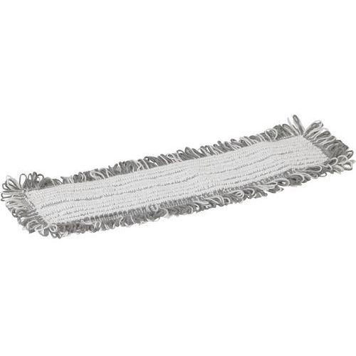 Mop Damp 47, do czyszczenia na wilgotno, kieszeniowy, biały, 400 mm, VIKAN 548500, Vikan z Gastrosilesia