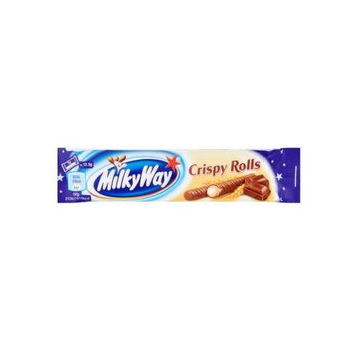 Mars Rurki milky way ameo z nadzieniem mlecznym w polewie z czekolady 25 g