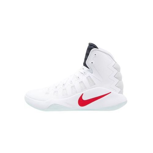 Nike Performance HYPERDUNK 2016 Obuwie do koszykówki white/dark obsidian/bright crimson, 844359