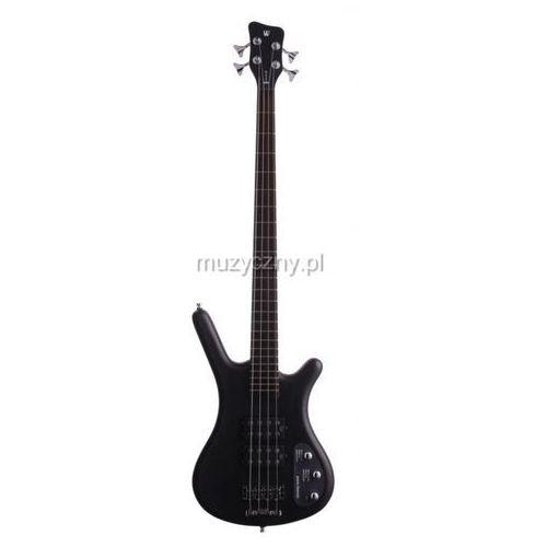 RockBass Corvette $$ 4 Nirvana Black Transparent Satin passive gitara basowa
