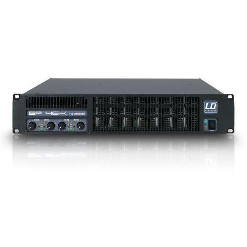 LD Systems SP 46K końcówka mocy PA 4 x 1440 W, 2Ohm
