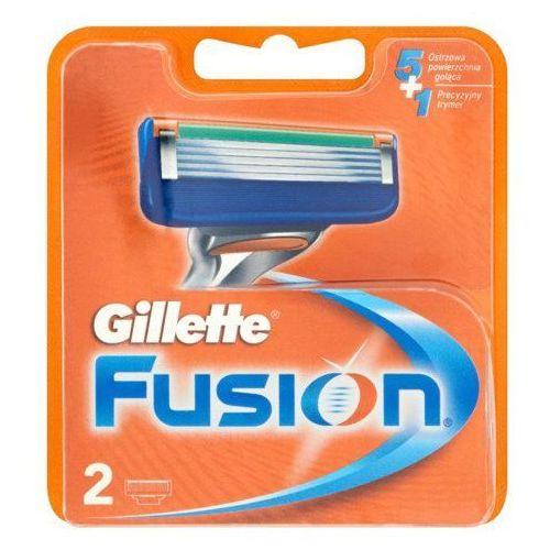 Gillette fusion wkład do maszynki 2 szt dla mężczyzn