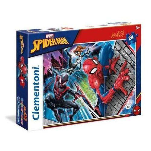 5ed9b96bd673f Clementoni 24 elementy maxi super kolor spider-man 17,36 zł Puzzle 24  komponenty MAXI, Spider-ManPuzzle Clementoni towarzyszą dziecku w każdej  fazie jego ...
