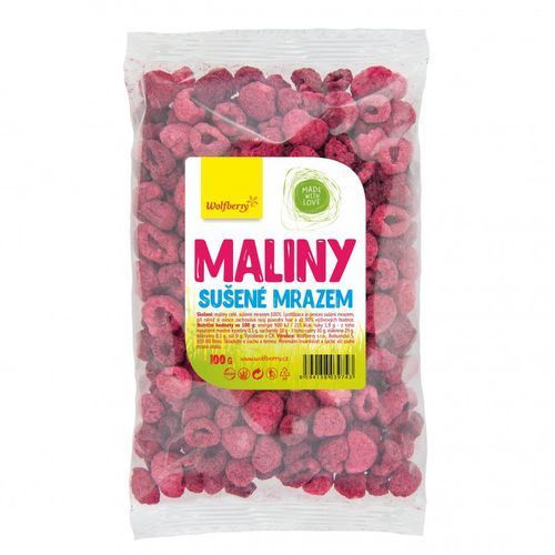 maliny liofilizowane 100 g marki Wolfberry