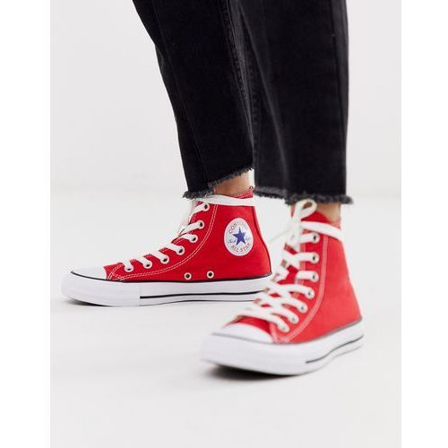 Converse Chuck Taylor All Star Hi Red trainers - Red, kolor czerwony