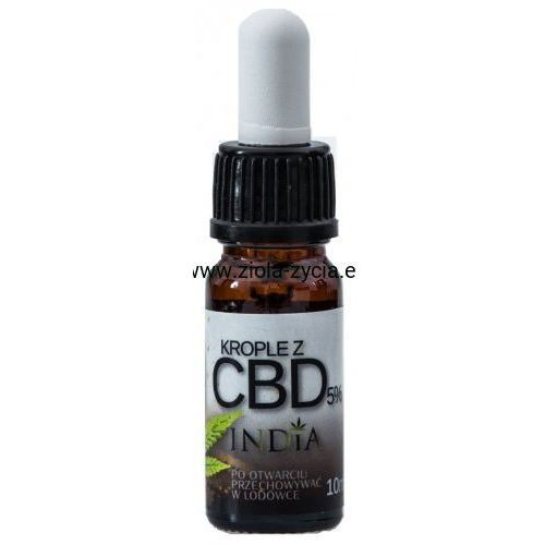 India cosmetics Krople z cbd 5% -