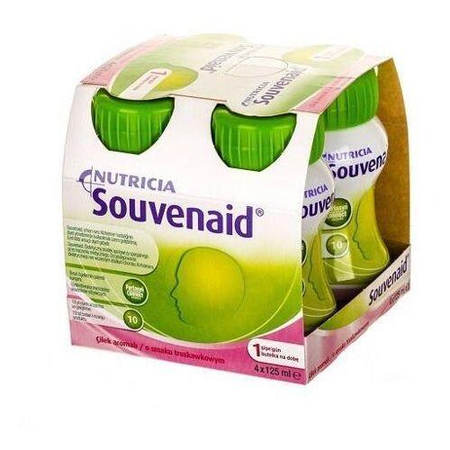 Souvenaid płyn o smaku truskawkowym 4 x 125ml marki Nutricia polska