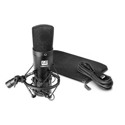 Ld systems d 1014 c usb mikrofon pojemnościowy na usb