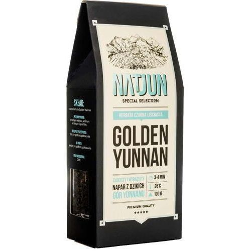 herbata czarna golden yunnan 100g marki Natjun
