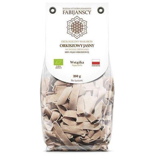 Fabijańscy (makarony) Makaron (z orkiszu białego) wstążka pappardelle bio 250 g - fabijańscy