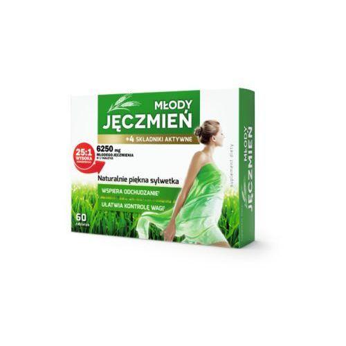 Tabletki COLFARM MŁODY JĘCZMIEŃ +4 składniki aktywne 6250mg 60 tabletek