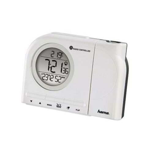 "Hama ""RCR 110"" Projection Alarm Clock - Biały"