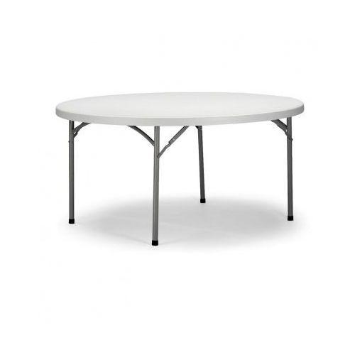 B2b partner Okrągły stół cateringowy, średnica 1500 mm, składany blat stołu