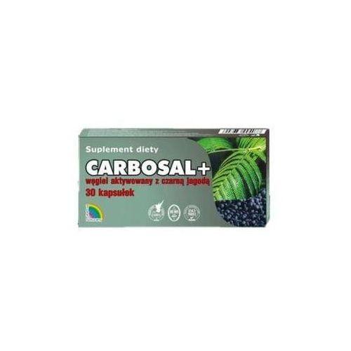 Carbosal+ węgiel z czarną jagodą x 30 kapsułek marki Gorvita