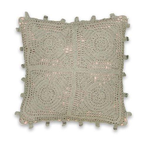 Poszewka na poduszkę ze ściegiem szydełkowym button marki La redoute interieurs