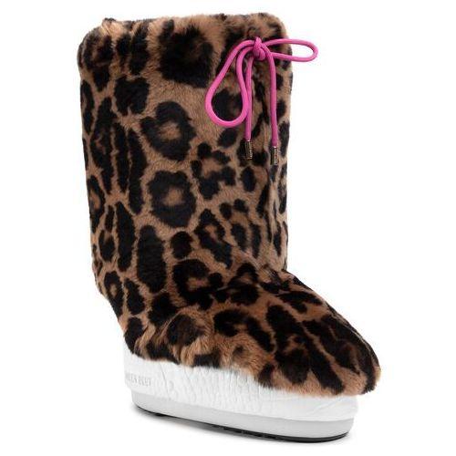 Ocieplacz na obuwie - cover rex rabbit 140c0v04001 print jaguar marki Moon boot
