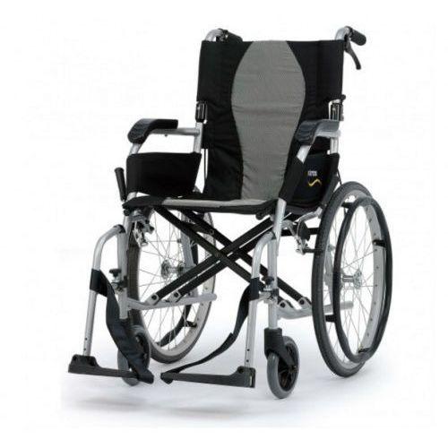 Podróżny wózek inwalidzki ergolite km-2512 marki Karma