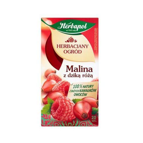 HERBAPOL 20x3g Herbaciany Ogród Malina z dziką różą Herbata owocowo-ziołowa