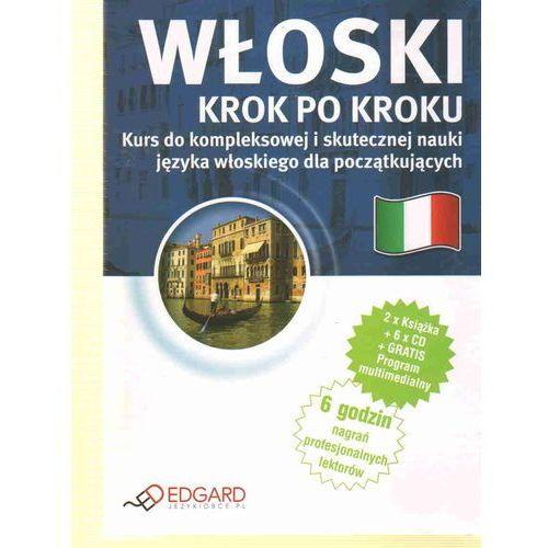 Włoski Krok Po Kroku (2 Książki + 6 Cd) (304 str.)