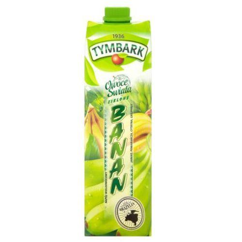 Napój wieloowocowy Owoce Świata Zielony banan 1 l Tymbark (5900334005526)