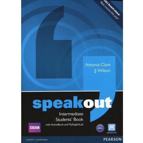 Speakout Intermediate, Student's Book (podręcznik) plus Active Book plus MyEnglishLab, Longman - Pearson Education
