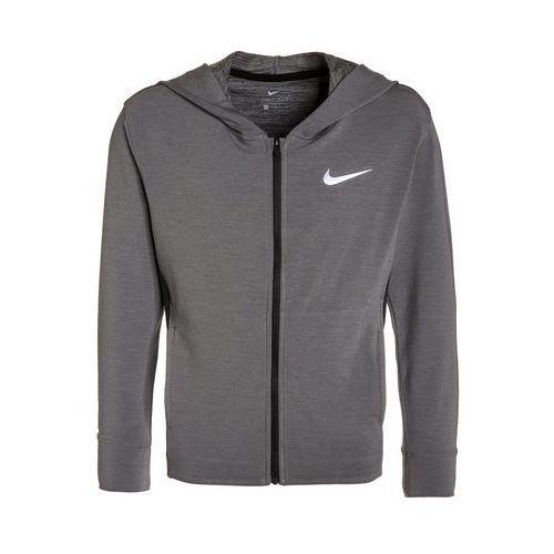 Nike Performance OBSESSED Kurtka sportowa dark grey heather/black (0883153010641)